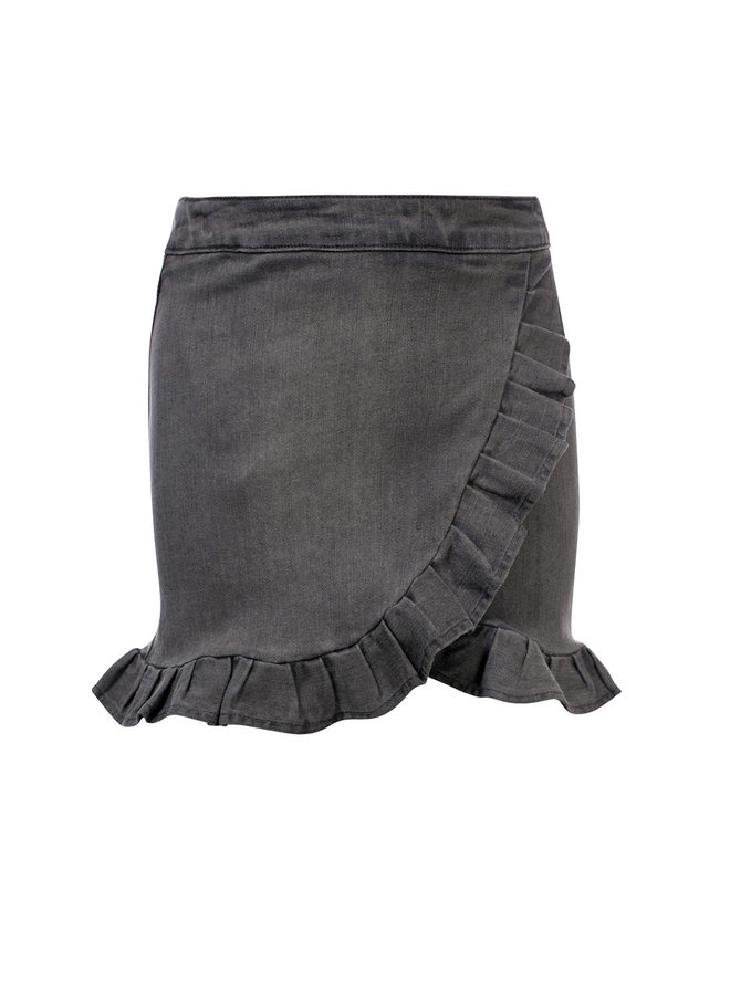 10Sixteen Jeans skirt soft grey - SOFT GREY