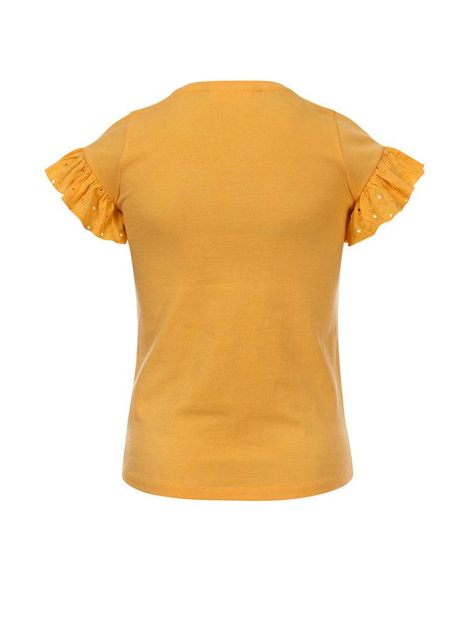 Little t-shirt s. sleeve - VANILLA