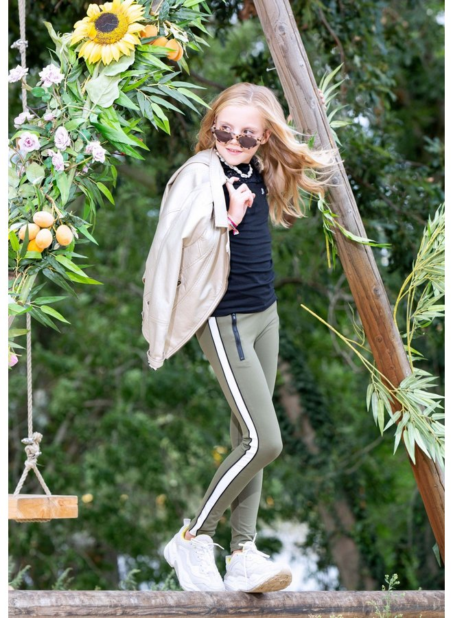 LEGGING PANTS - Olive