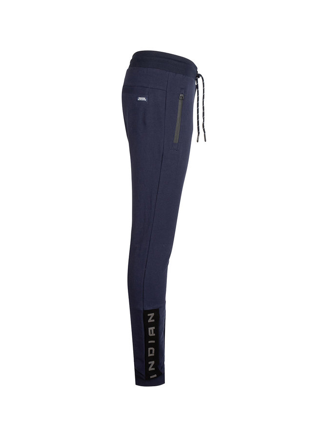 JOG PANT BASIC ZIP - Navy Blue