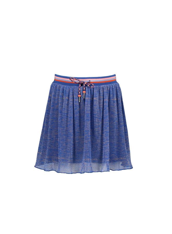 Nora short skirt with biker - Light Porcelaine