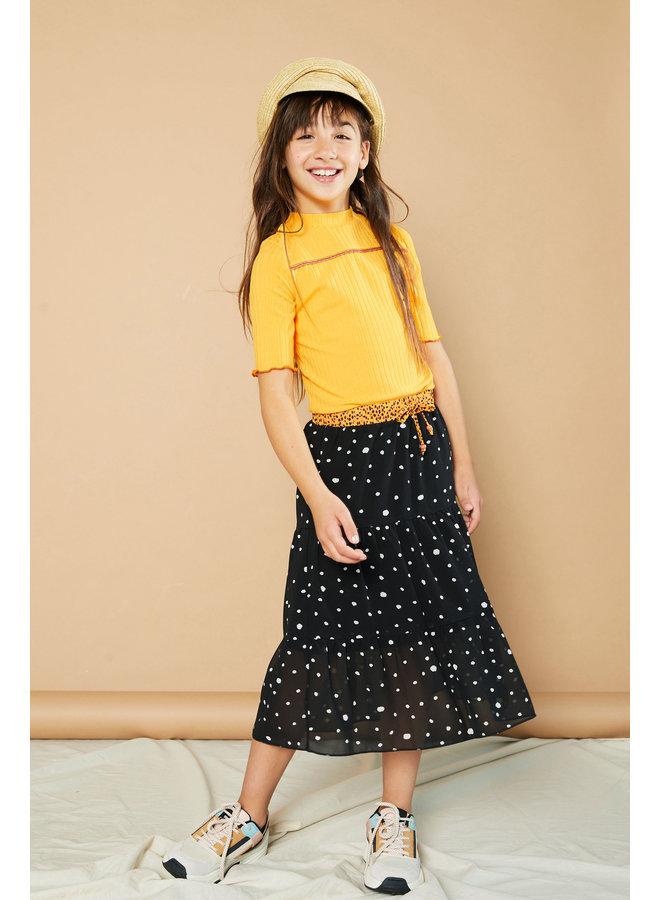 NaelB maxi skirt - Antracite
