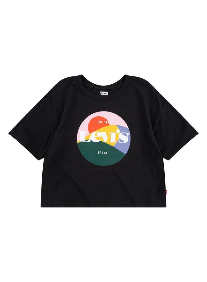S/S TEE - BLACK