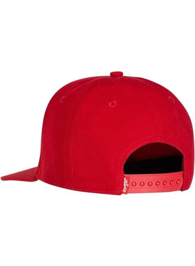 CAPS - LEVI'S RED/WHITE