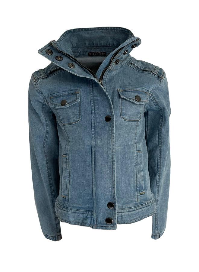 Dominique denim jacket - Denim