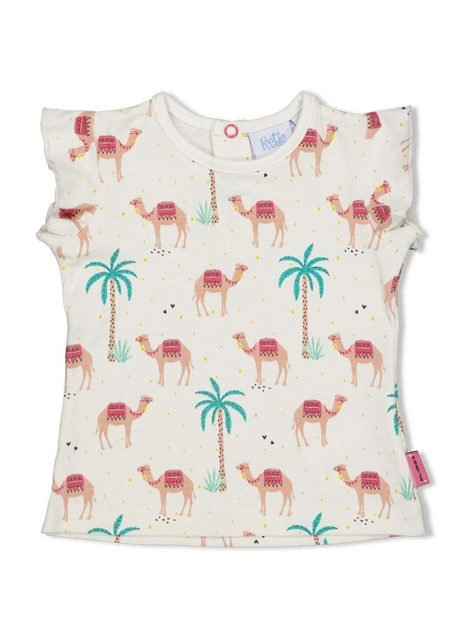 T-shirt AOP - Little Thing Called Love - Offwhite