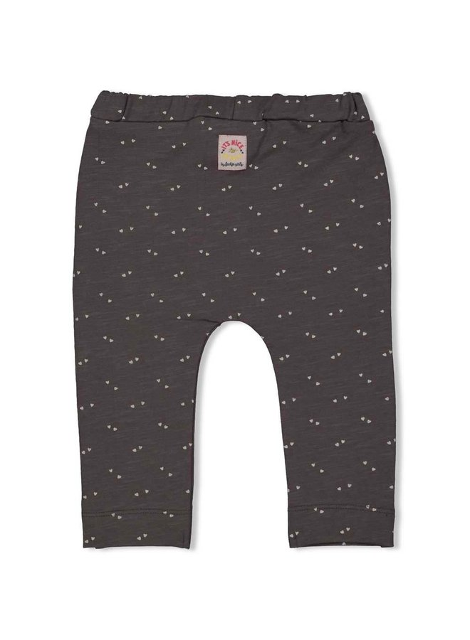 Broek ruches - Little Thing Called Love - Antraciet
