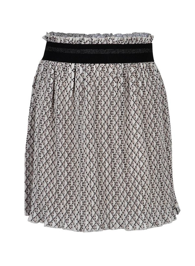 PLEATED SKIRT - Graphic Print