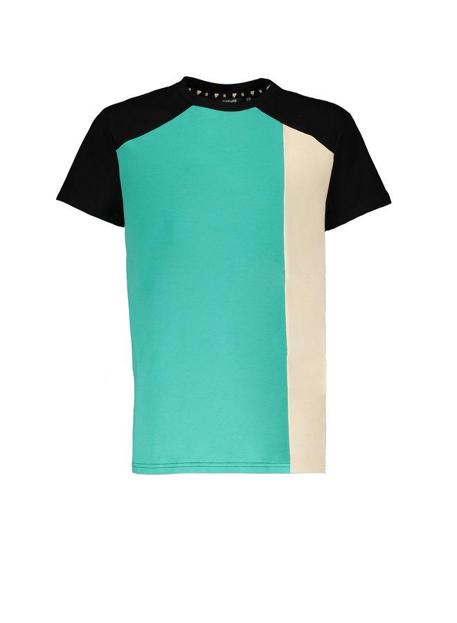 Kury short sleeves T-shirt cut and sewn - Sea Green