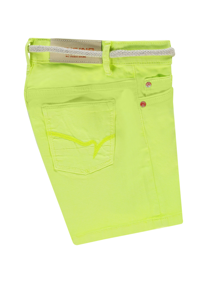 Belize Short - Light Neon Yellow