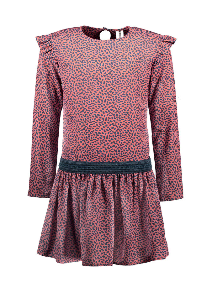Girls mix dots aop woven dress - Mix Dots