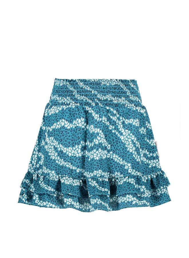 Girls skirt with 2 ruffle parts on hem - Good Zebra AO
