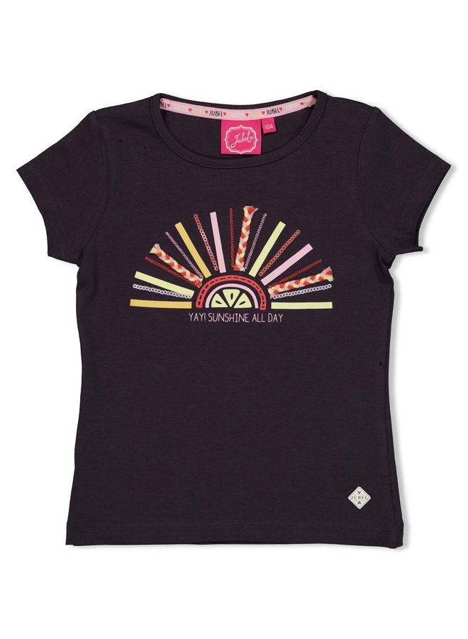 T-shirt - Tutti Frutti - Antraciet