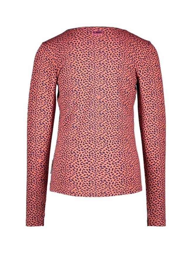 Girls aop t-shirt with chest artwork - Mix Dots