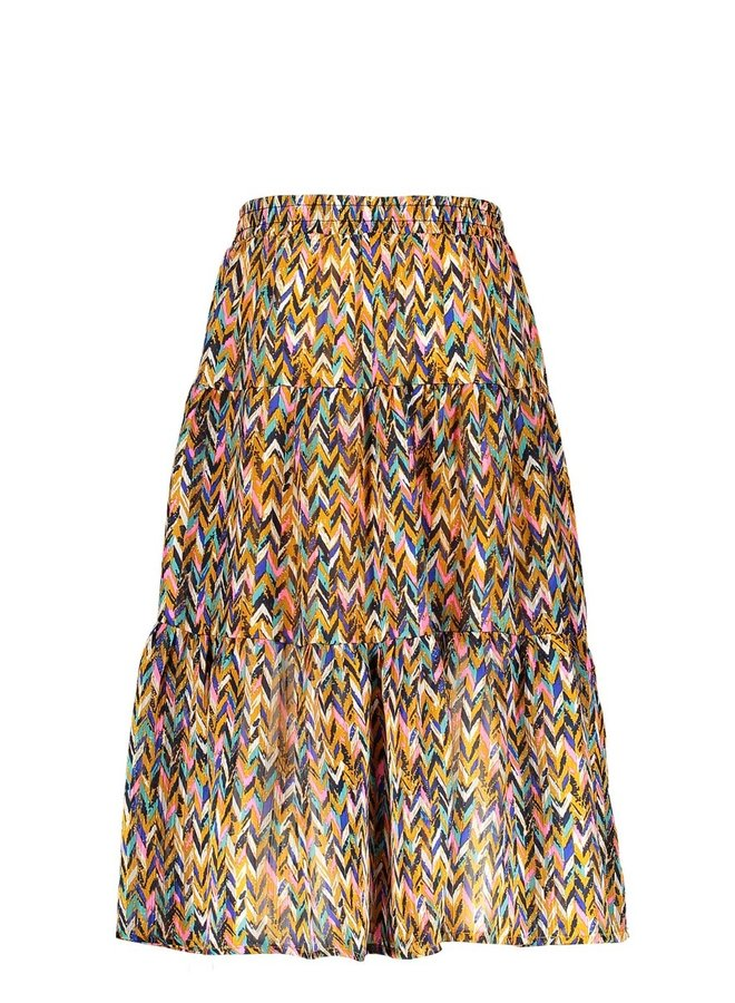 Girls curious aop woven midi skirt - Curious ao