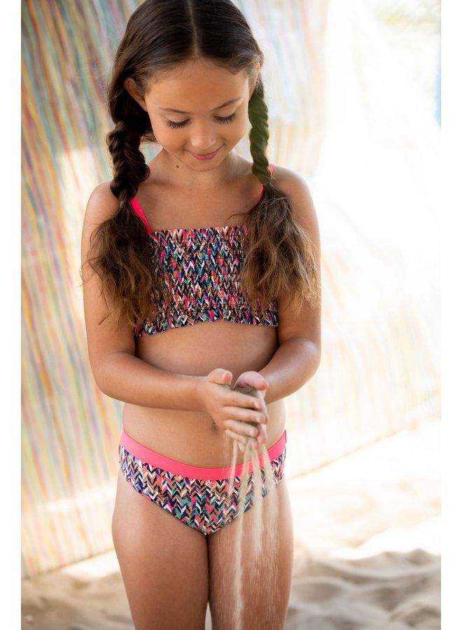 Girls curious ao bikini with smocked top - Curious ao