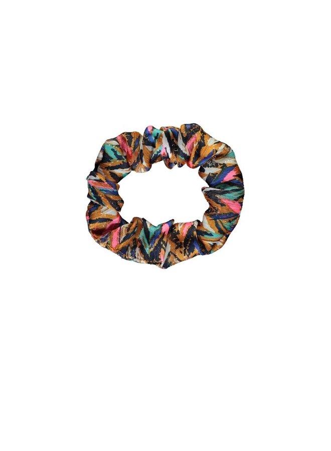 Girls curious aop woven scrunchie - Curious ao