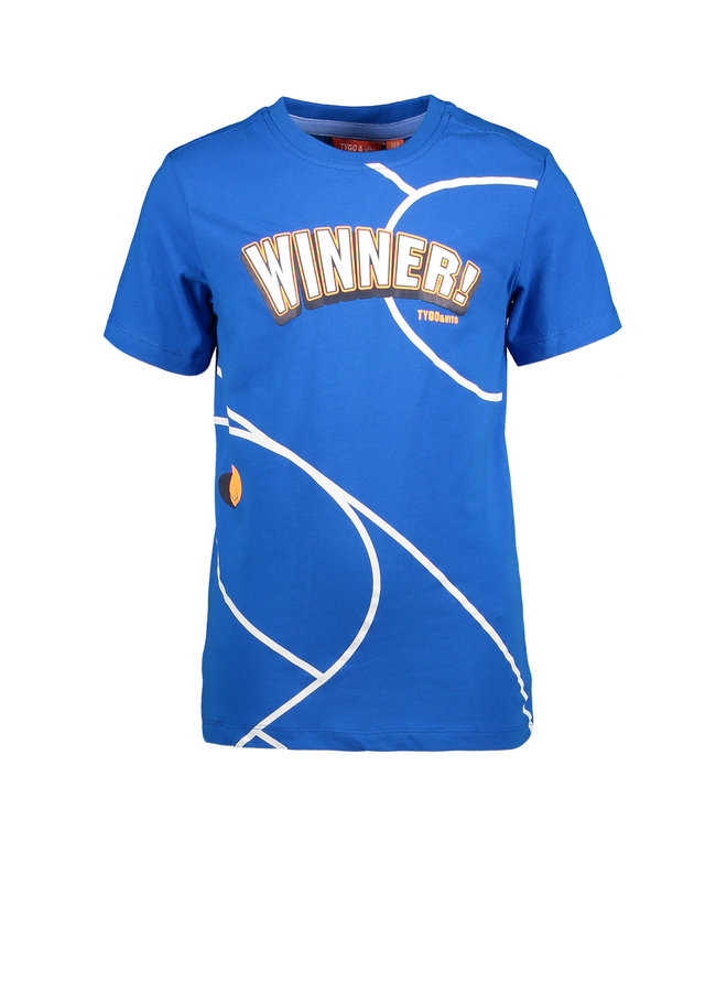 T&V T-shirt WINNER - Sky Blue