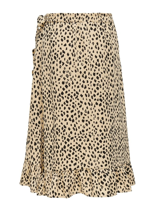KONLINO LONG FAKE WRAP SKIRT CS WVN - Warm Sand