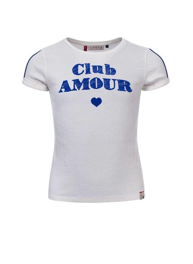 Little t-shirt s. sleeve - ivory