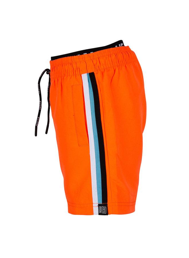 BEACHSHORT CONTRAST - Bright Orange