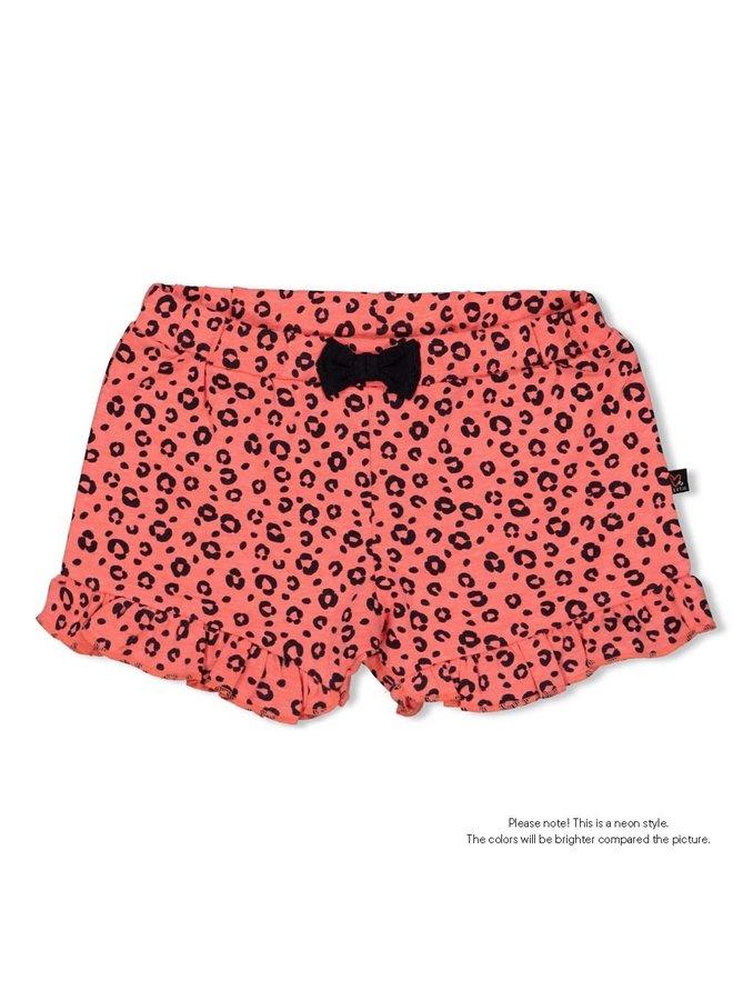 Slip - Leopard Love - Neon Koraal