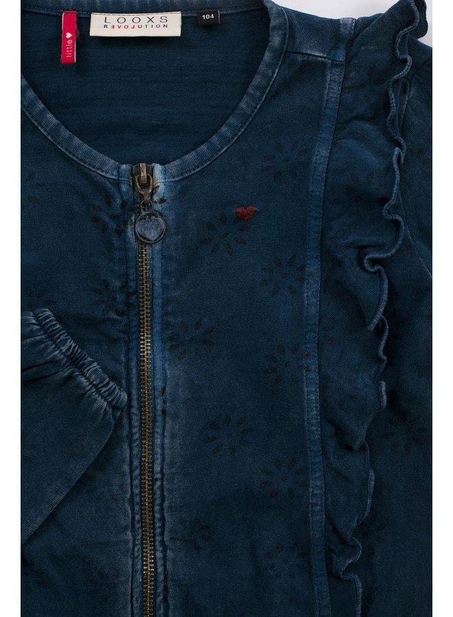 Little cardigan - INDIGO BLUE