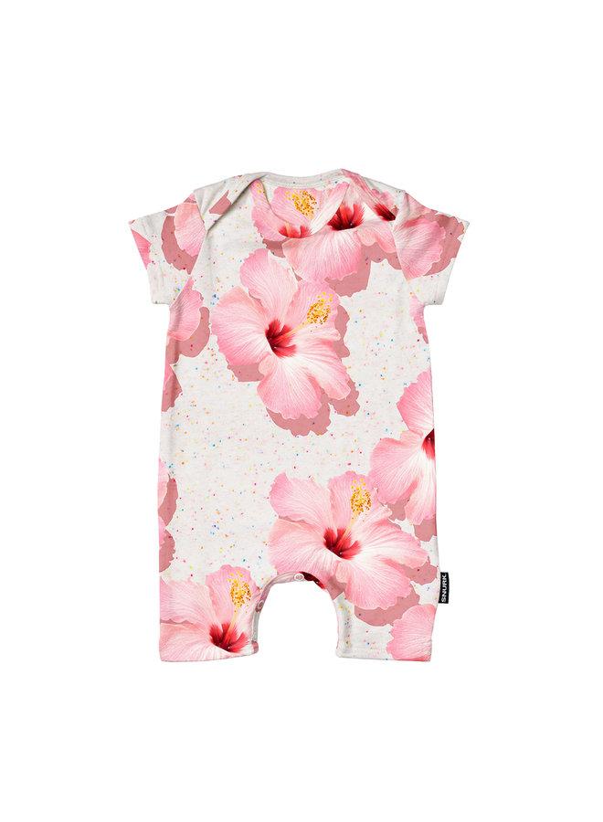 Pink Hawaii Playsuit Babies