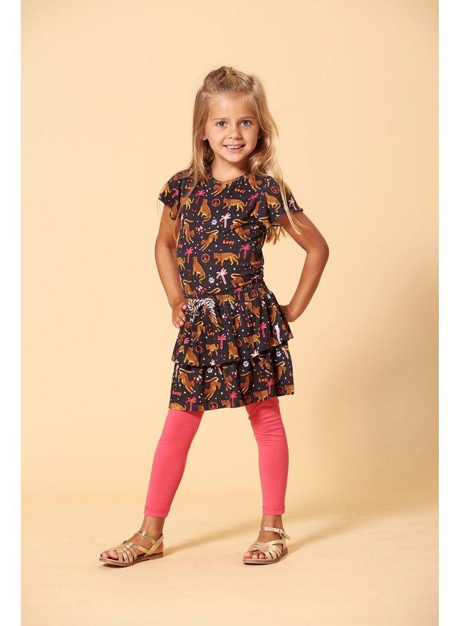 Legging - Whoopsie Daisy - Fuchsia