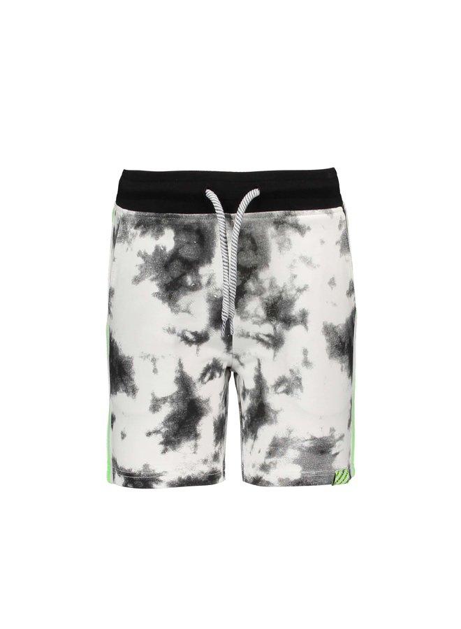 Boys tie dye sweat shorts - Tie dye black