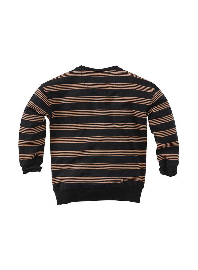 Lou - Beasty black/Stripes