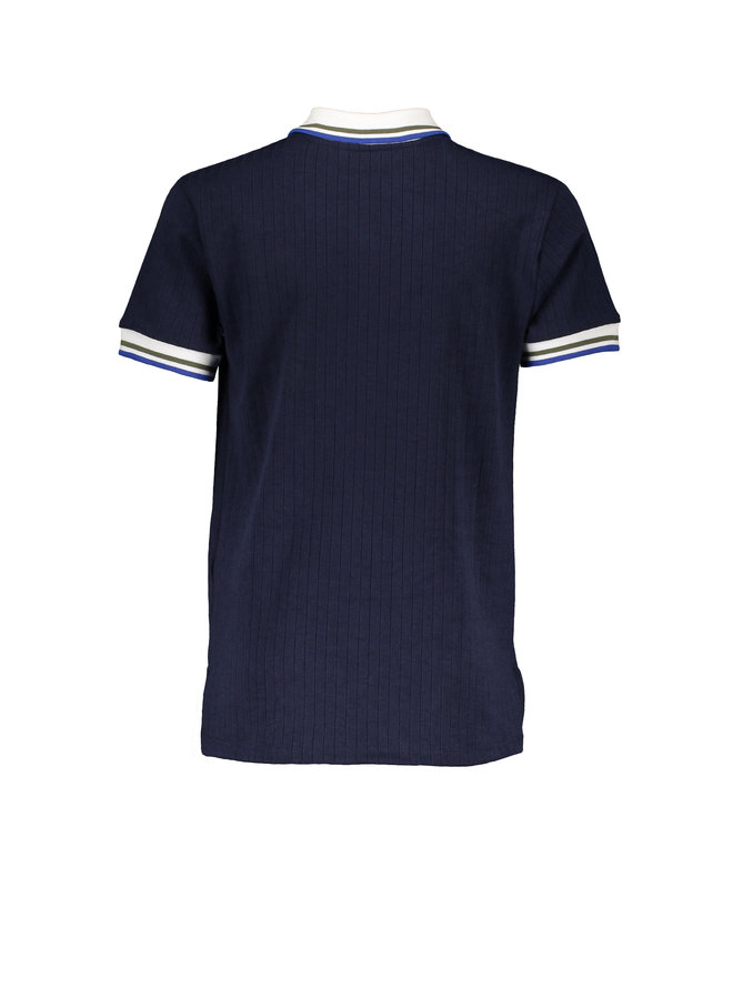 Kokos Polo shirt short sleeves - Navy Blazer