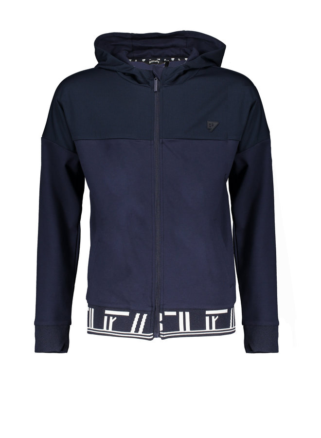 Aiko hooded sweater - Navy Blazer