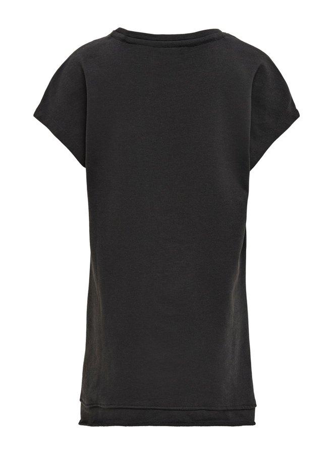 KONBRANDY LIFE S/S RODEO SHORT DRESS SWT - Phantom
