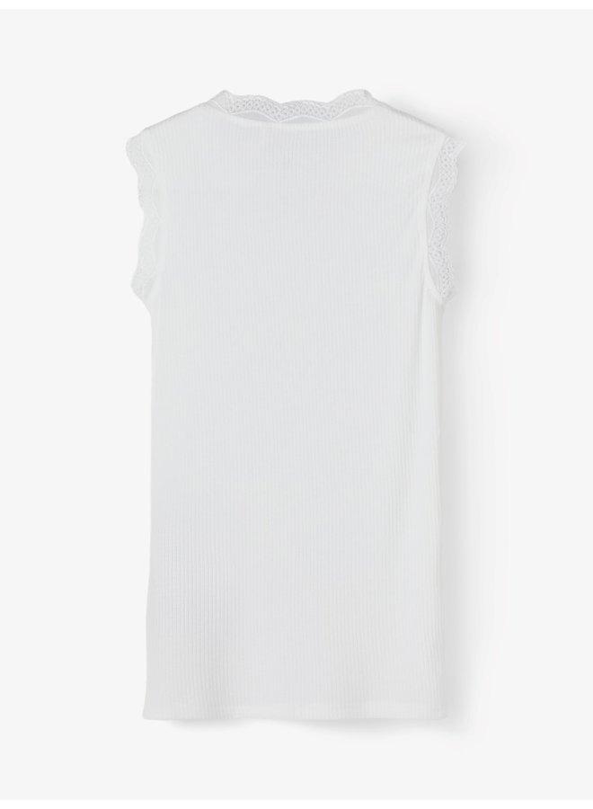 NKFRUNI SL XSL TOP NOOS - Bright White