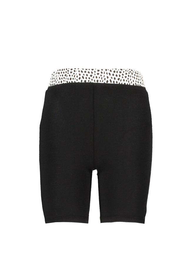 Girls short aop pants - Black