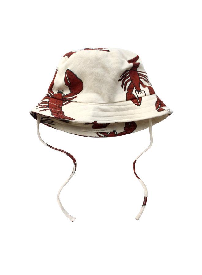 Lobster   Summer Hat - Dark Rust