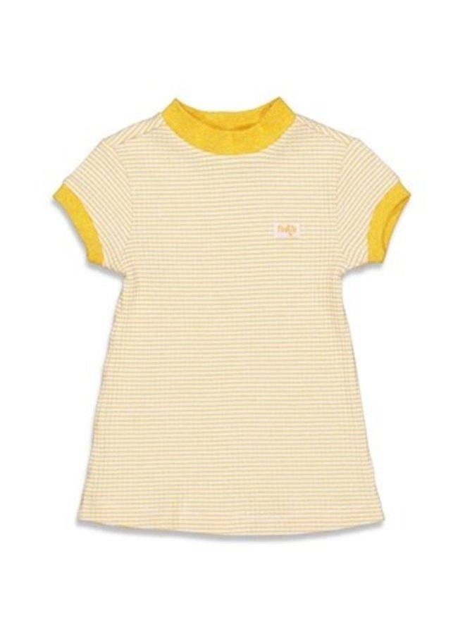 Nachthemd wafel - Okergeel