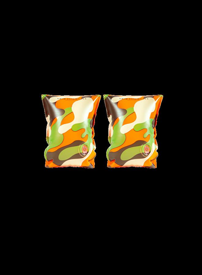 Zwembandjes 2-6 jaar - Camouflage