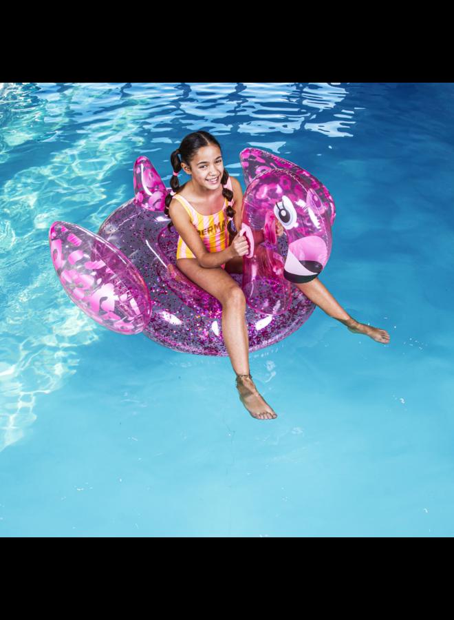 Luxe Ride-on Flamingo - Neon Panterprint