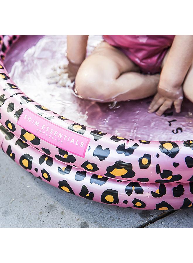Baby zwembad 60 cm - Panterprint Rose goud