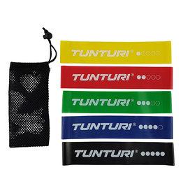 Tunturi Mini Resistance Band Set 5pcs
