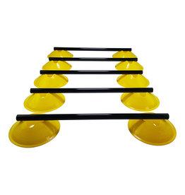 Tunturi Adjustable Agility Hurdle Set,  5 Hurdles