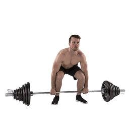 Tunturi 100Kg Olympic Tri-Grip Barbell Set