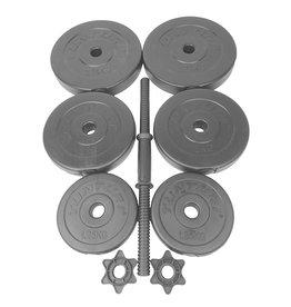 Tunturi Vinyl Dumbbellset 15kg