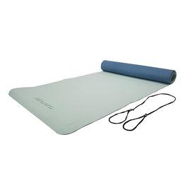 Tunturi Yogamat 4mm Dark/Light blue