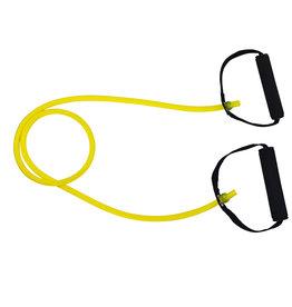 Tunturi Tubing Set with Grip, Light, Yellow