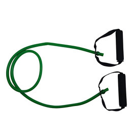 Tunturi Tubing Set with Grip, Medium, Green