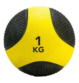 Tunturi Medicine Ball 1kg, Yellow/Black