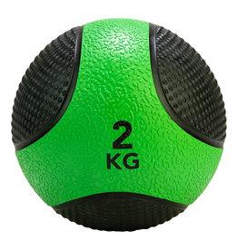Tunturi Medicine Ball 2kg, Green/Black